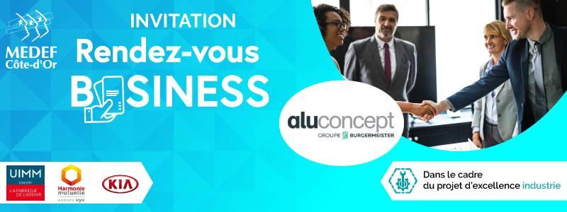 RDV Business chez Aluconcept